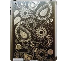 Paisley Patterns in faux Metals iPad Case/Skin
