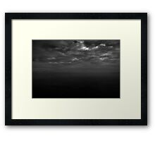 Dull place Framed Print