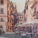 Monterosso Cafe by JennyArmitage