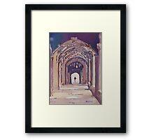 Gothic Spector Framed Print