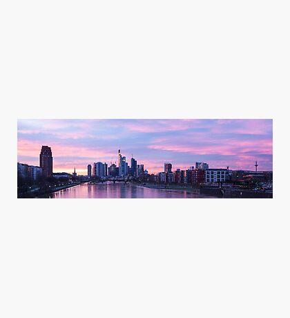Downtown Frankfurt Photographic Print