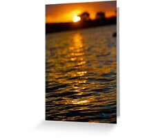 Summer Sunsets Greeting Card