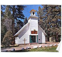 Chapel On The Mountain Poster