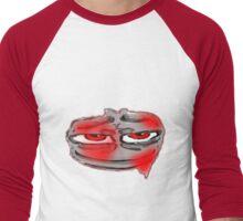 Got Red on You,Little on the face. Men's Baseball ¾ T-Shirt