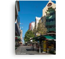 Rundle Mall - Looking West  Canvas Print