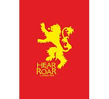 Game of Thrones - Lannister house v2 Photographic Print