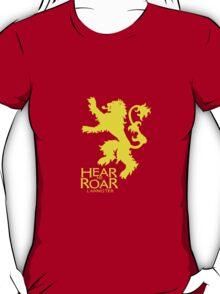 Game of Thrones - Lannister house v2 T-Shirt
