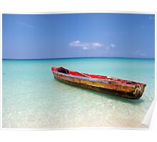 Seven Mile Beach - Negril, Jamaica Poster