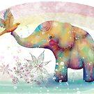 The Indigo Elephant by © Cassidy (Karin) Taylor