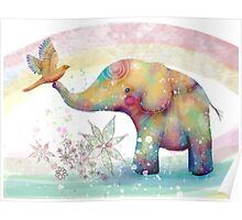 The Indigo Elephant Poster