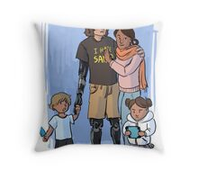 Skywalker Family Throw Pillow