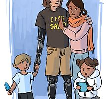 Skywalker Family by tomatobird