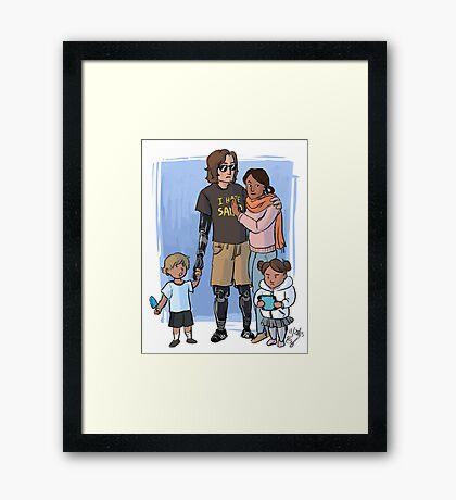 Skywalker Family Framed Print