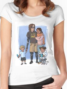 Skywalker Family Women's Fitted Scoop T-Shirt