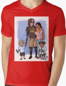 Skywalker Family Mens V-Neck T-Shirt