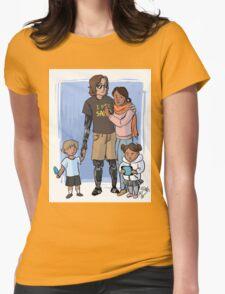 Skywalker Family Womens Fitted T-Shirt