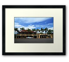 The Grand View Hotel Cleveland Framed Print