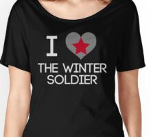 I Heart The Winter Soldier Women's Relaxed Fit T-Shirt