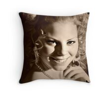 """ A Star In My Eyes, My Daughter, Rachael "" Throw Pillow"