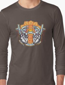 two hearts connection, psychedelic sci-fi Long Sleeve T-Shirt