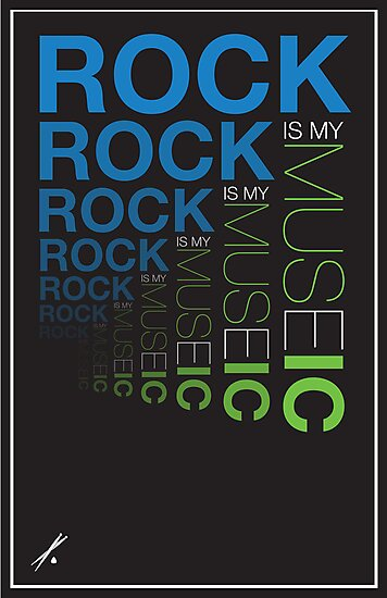 Rock is My Museic by Gregory Manno