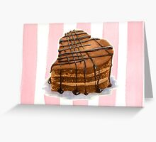 Sweetheart Cake Greeting Card