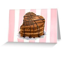 Sweetheart Cake Greeting Card