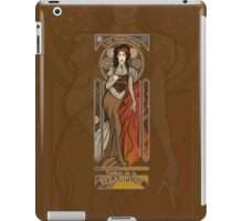 Steampunk Nouveau- Brown iPad Case/Skin