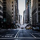 NYC movie streets  by Jean-Michel Dixte