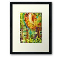 Heaven Smiles Framed Print