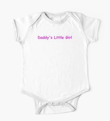 Daddy's Little Girl T-Shirt - Comic Sans Edition One Piece - Short Sleeve
