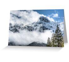 Majestic Mount Persis Greeting Card