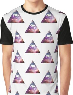 Illuminati galaxy graphic shirt edit Graphic T-Shirt