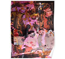 Abstract Landscape x5 Poster