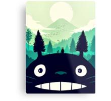 【7400+ views】Totoro Mountain Metal Print