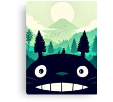 【7400+ views】Totoro Mountain Canvas Print