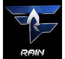 FaZe Rain Logo Photographic Print