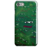 Galaxy Rare Pepe iPhone Case/Skin