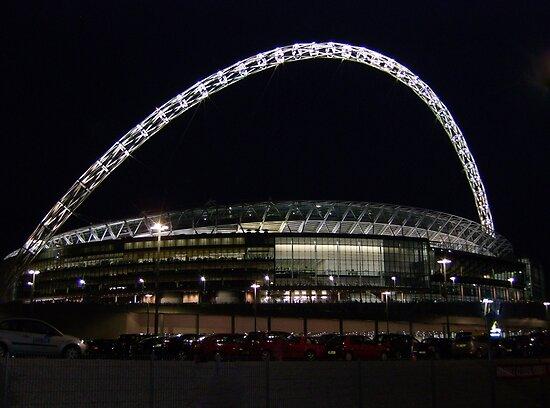 Wembley Stadium, London, England by wiggyofipswich