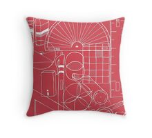 Math & Science Tools 1 Throw Pillow