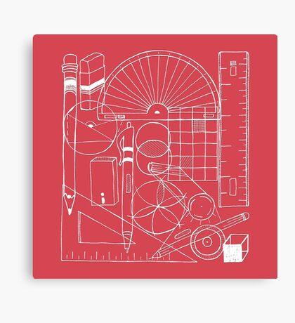 Math & Science Tools 1 Canvas Print