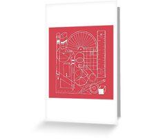 Math & Science Tools 1 Greeting Card