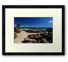 Snapper Rocks Gold Coast Framed Print