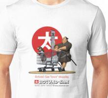 "Rotund-San ""Loves"" Shopping Unisex T-Shirt"