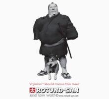 The Bodyguard (Black & White) by Rotund-San