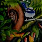 Rainforest Chatter   sold 23-03-2013 Grammar School Toowoomba by Sandra  Sengstock-Miller