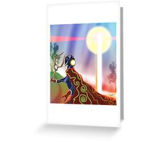Fantasy Figure March 2013 Greeting Card