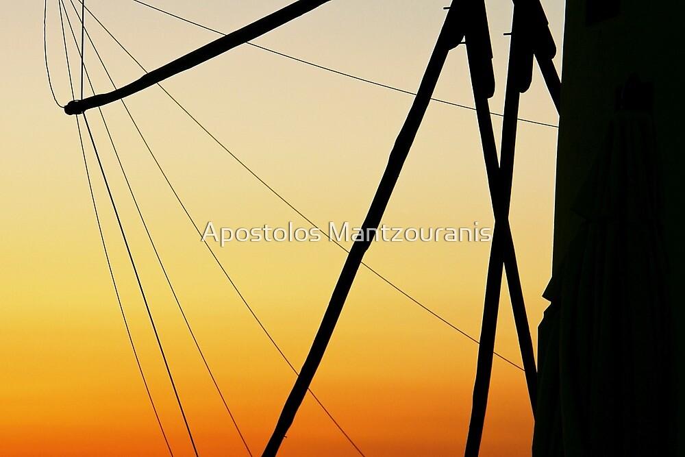 Wind Mill by Apostolos Mantzouranis