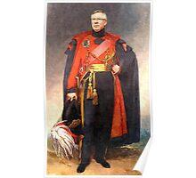 Sir Alex Ferguson, C-in-C Poster