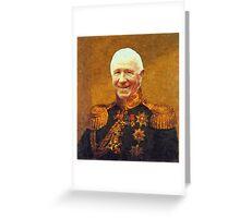 Sir Matt Busby Greeting Card